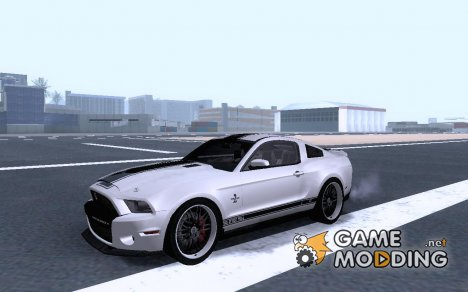 Ford Shelby GT500 Super Snake NFS The RUN Editio для GTA San Andreas