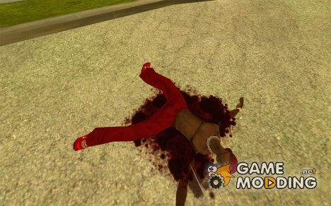 Новая текстура крови for GTA San Andreas