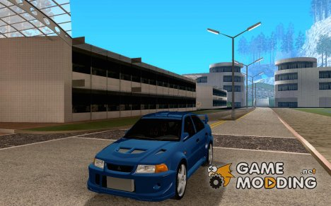 Mitsubishi Lancer EVO 6 (Skinnable Edition) for GTA San Andreas