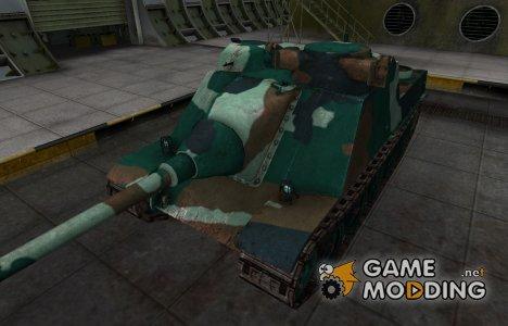 Французкий синеватый скин для AMX AC Mle. 1946 для World of Tanks