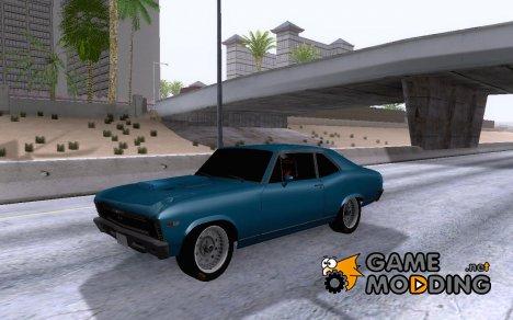 Chevrolet Nova 1969 Jr Muscle for GTA San Andreas