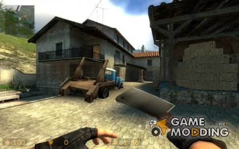 Spazzz cleaver for Counter-Strike Source