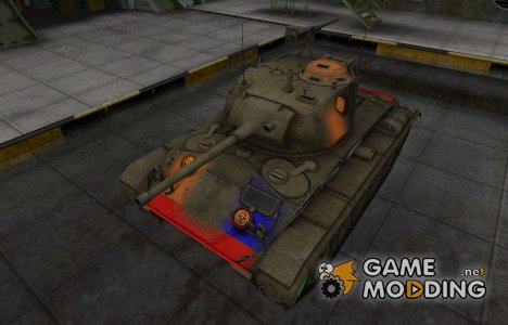 Качественный скин для M24 Chaffee for World of Tanks