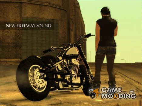 New Freeway Sound for GTA San Andreas