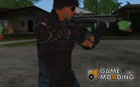 MP5 SWAT for GTA San Andreas