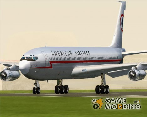 Boeing 707-300 American Airlines for GTA San Andreas