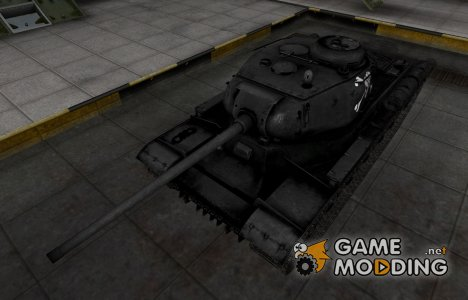 Темная шкурка ИС for World of Tanks