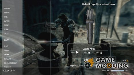 Craft Any Arrow for TES V Skyrim