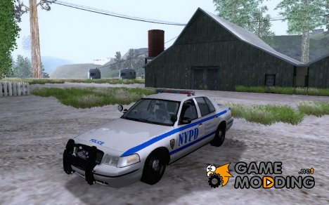 Ford Crown Victoria NYPD Unit for GTA San Andreas