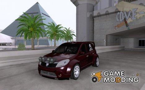 Dacia Sandero Rally v2 for GTA San Andreas