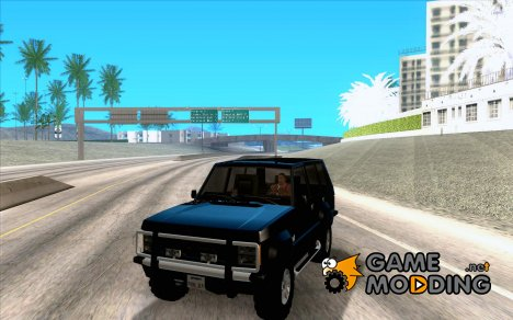 FBI Huntley 4x4 для GTA San Andreas