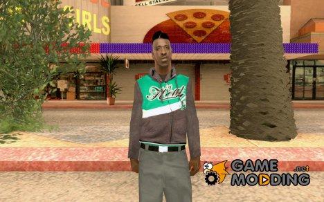 Новый скин афроамериканца для GTA San Andreas