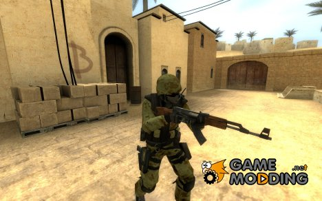 Digital Desert Camo для Counter-Strike Source