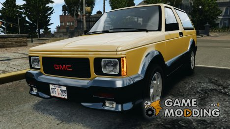 GMC Typhoon v1.1 для GTA 4