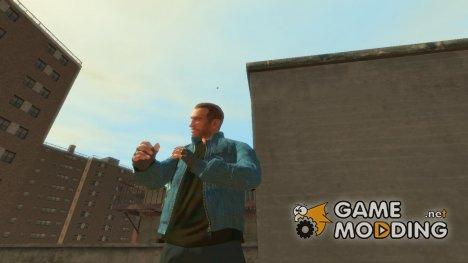 Джинсовая куртка Levi's для GTA 4