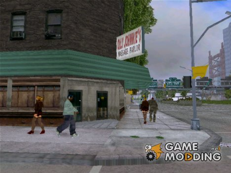 Вид от первого лица для GTA 3