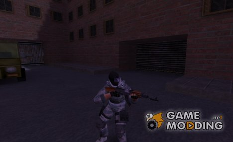 Russian special forces soldier(nexomul) for Counter-Strike 1.6