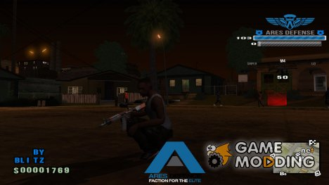 ARES C-HUD by Duke Blitz для GTA San Andreas