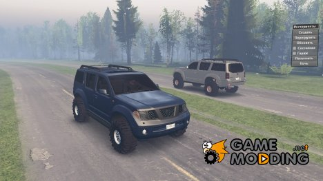 Nissan Pathfinder 2009 for Spintires 2014