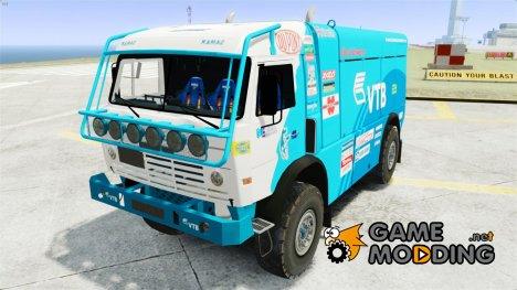 КамАЗ 4911 Rally МАСТЕР for GTA 4