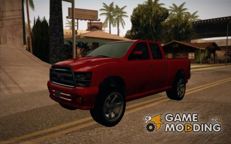 GTA V Bison (Updated!) для GTA San Andreas