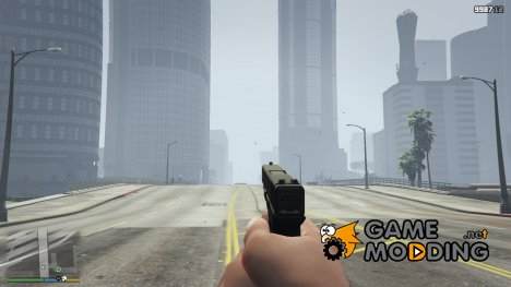 Glock 20 without undergrip for GTA 5