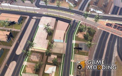 Los Santos Roads HD for GTA San Andreas