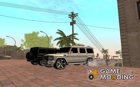 Mersedes  Benz  G500 AMG Super  Fbi для GTA San Andreas