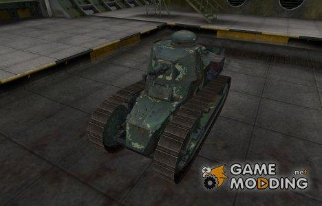 Скин с камуфляжем для Renault FT for World of Tanks