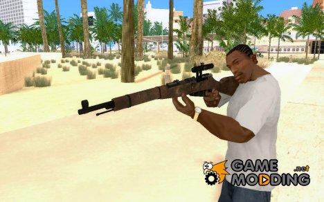 Снайперская Винтовка Мосина for GTA San Andreas