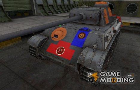 Качественный скин для PzKpfw V Panther для World of Tanks
