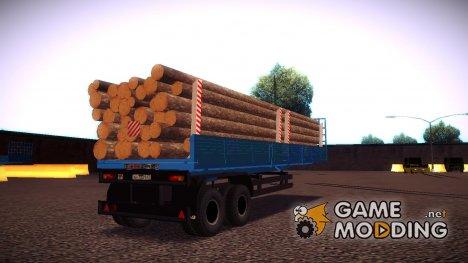 """Прицеп """"Лесовоз"""" для GTA San Andreas"""