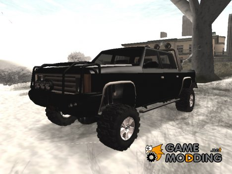 4X4 FBI Rancher for GTA San Andreas