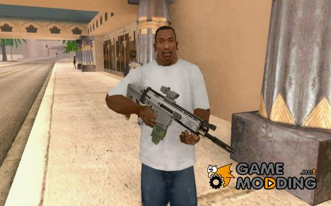 SCAR-H with ACOG Scope для GTA San Andreas