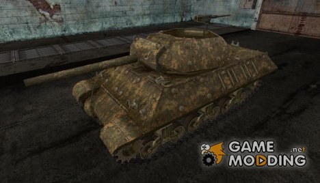шкурка для M10 Wolverine №9 for World of Tanks