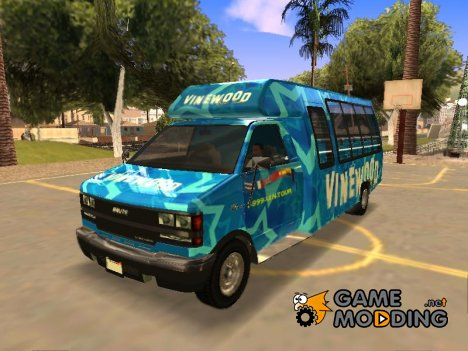Vinewood VIP Star Tour Bus из GTA V для GTA San Andreas