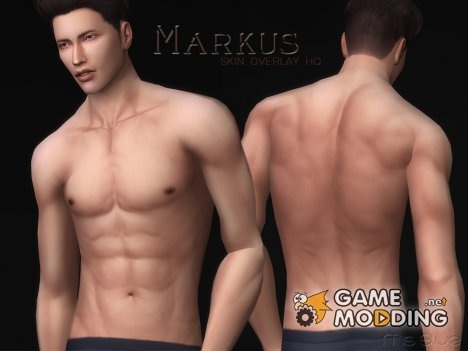 Markus Skin Overlay HQ for Sims 4