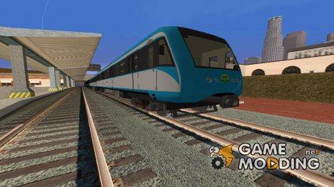 Метровагон типа 81-7021 (замыкающий) для GTA San Andreas