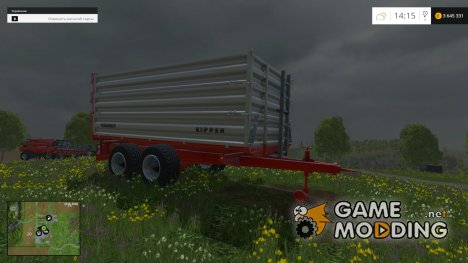Puehringer Bale Trailer for Farming Simulator 2015