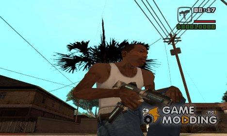 Инопланетный микро Узи for GTA San Andreas
