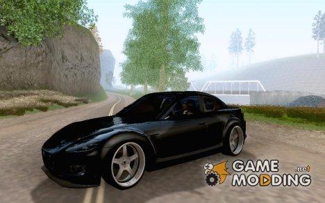 Mazda RX8 Tuned for GTA San Andreas