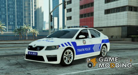 Škoda Octavia 2016 Yeni Türk Trafik Polisi for GTA 5