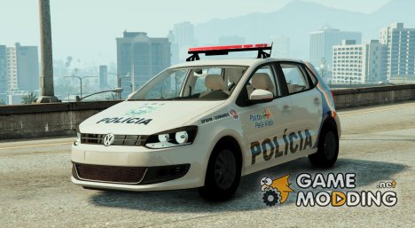 Volkswagen Gol G6 Polícia Militar Brasil FINAL for GTA 5