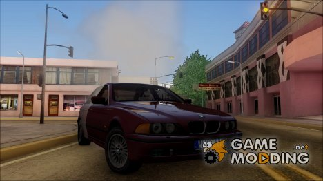 BMW E39 530D - Stock 1999 for GTA San Andreas