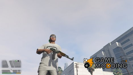 AKS-47 for GTA 5