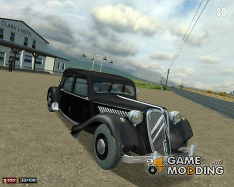 Citroen 15 for Mafia: The City of Lost Heaven