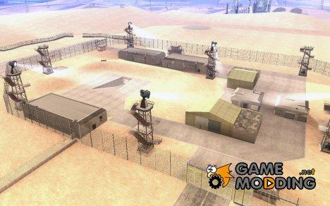 Black Project или реалистичная военная база for GTA San Andreas