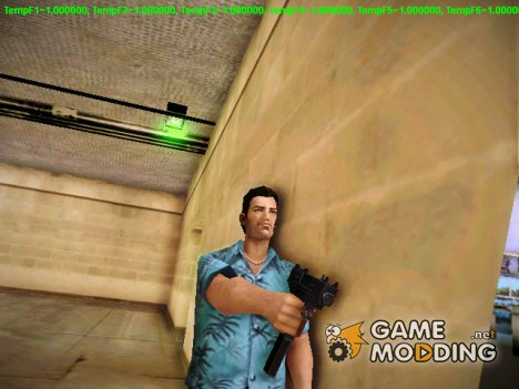 Micro-SMG (Micro UZI) из GTA IV для GTA Vice City