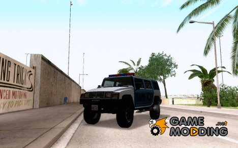 Mammoth Patriot San Andreas Police SUV for GTA San Andreas