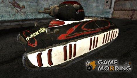 Шкурка для AMX40 для World of Tanks